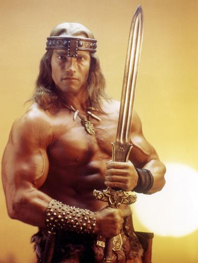 Conan the Destroyer, Arnold Schwarzenegger, by Richard Fleischer with, 1984--Photo