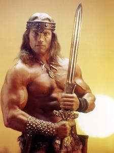 Conan the Destroyer, Arnold Schwarzenegger, by Richard Fleischer with, 1984