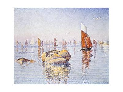 Concarneau: Quiet Morning, 1891-Paul Signac-Giclee Print