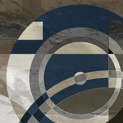 Concentric Squares II-James Burghardt-Art Print