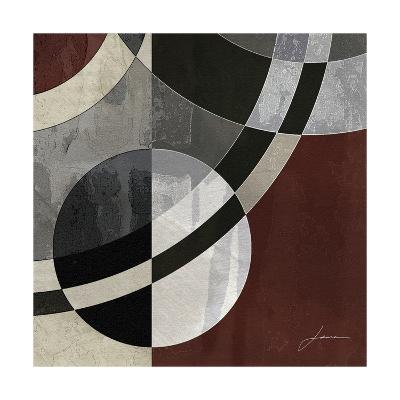 Concentric Squares III-James Burghardt-Art Print