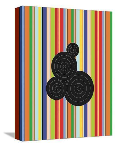Concentric Universe-Dan Bleier-Stretched Canvas Print