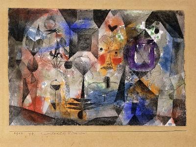 Concentrierter Roman-Paul Klee-Giclee Print