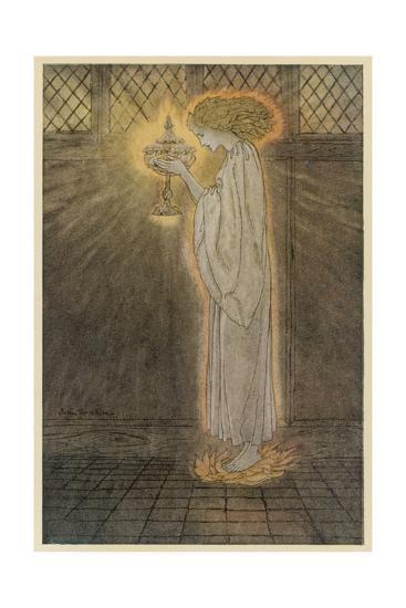 Concepts, Sangrael-Arthur Rackham-Giclee Print
