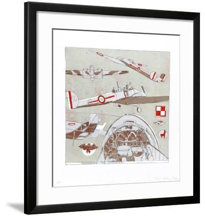 Concerning the Potez 63-Robert Andrew Parker-Framed Collectable Print