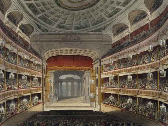 Concert at New Covent Garden Theatre in London--Giclee Print