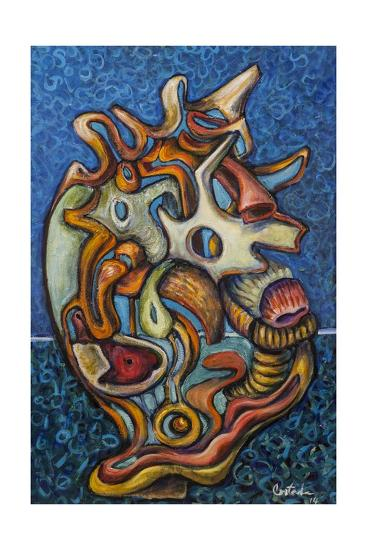 Conch, 2014-Xavier Cortada-Giclee Print