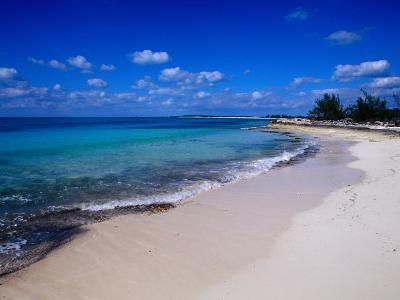 Conch Bay Beach, Cat Island, Bahamas-Greg Johnston-Photographic Print