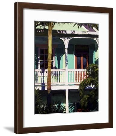 Conch Republic I-Rick Novak-Framed Art Print