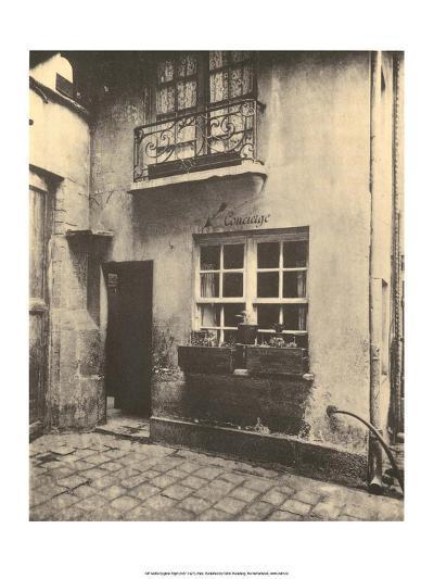 Concierge Door, Paris, 1924-Eugene Atget-Art Print