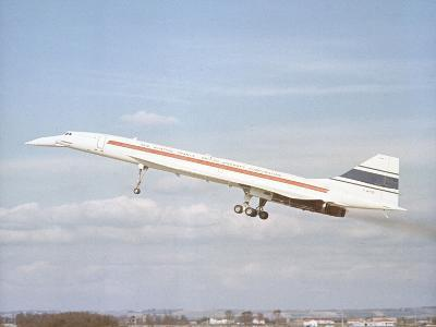 Concorde 002 Flies 1969--Photographic Print