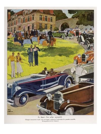 Concours D'Elegance--Giclee Print