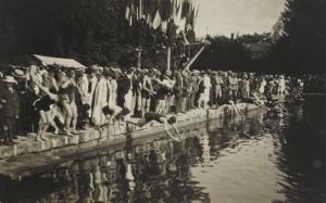Concours de natation sur le canal, 1939