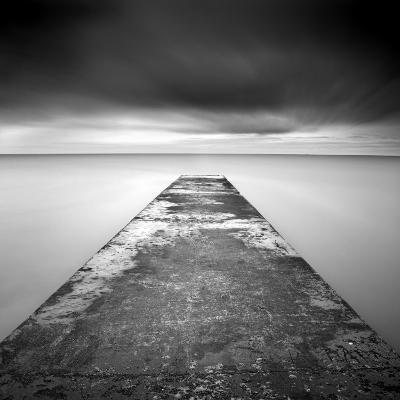 Concrete Jetty on Blyth Beach, Northumberland, England, United Kingdom, Europe-Lee Frost-Photographic Print