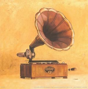 Antique Phonograph by Conde
