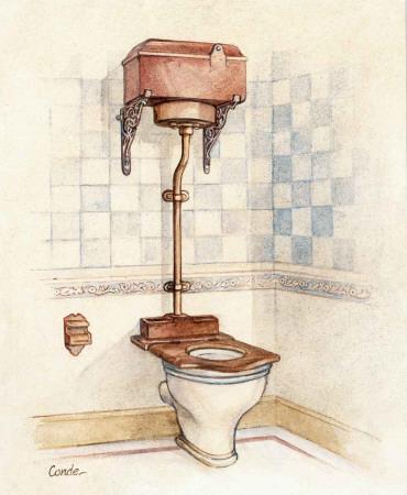 Vintage Toilet I
