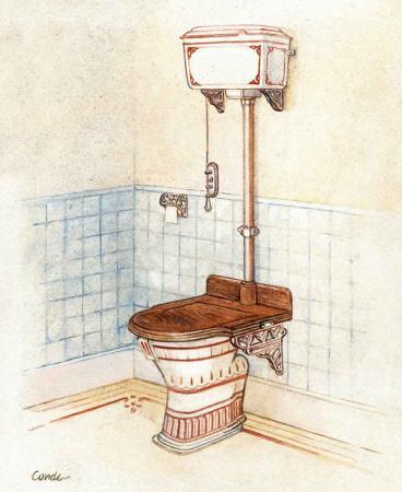 Vintage Toilet II