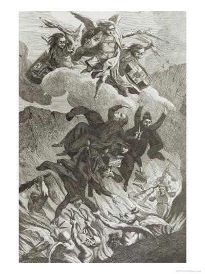 Condemnation of the Jesuits, 6th August 1762--Giclee Print
