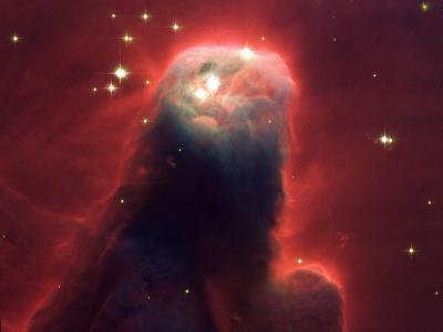 Cone Nebula NGC 2264--Photographic Print