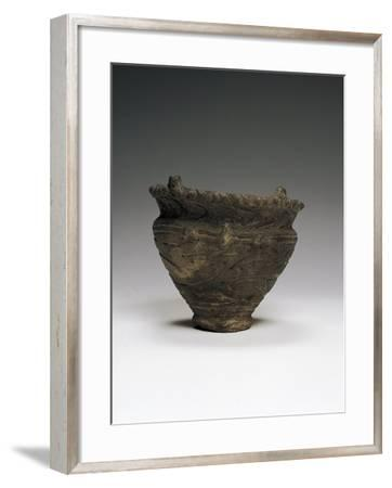 Cone Vessel, Found in Aomon--Framed Giclee Print
