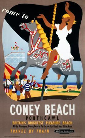 Coney Beach Porthcawl, Britain's Brightest Pleasure Beach, Carousel