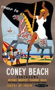 Coney Beach Porthcawl, Britain's Brightest Pleasure Beach, Carousel