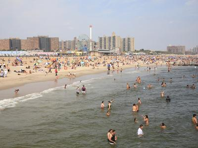 Coney Island, Brooklyn, New York City, United States of America, North America-Wendy Connett-Photographic Print