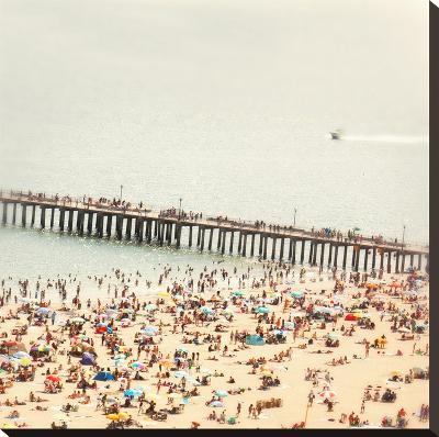 Coney Island Summer-Mina Teslaru-Stretched Canvas Print
