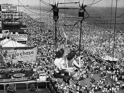 Coney Island View, New York, New York, c.1957--Photographic Print