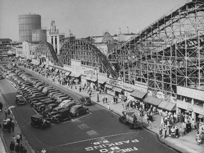 Coney Island-Ralph Morse-Photographic Print