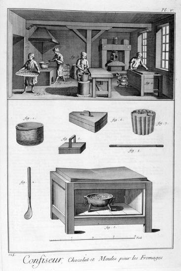 Confectioners, 1751-1777--Giclee Print