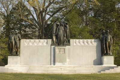 Confederate Memorial, Shiloh National Military Park, Tennessee--Photographic Print