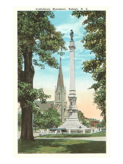 Confederate Monument, Raleigh, North Carolina--Art Print