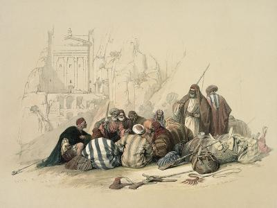 Conference of Arabs-David Roberts-Giclee Print