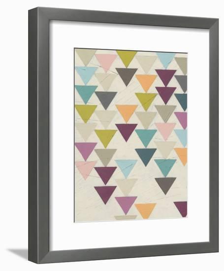 Confetti Prism IX-June Vess-Framed Art Print