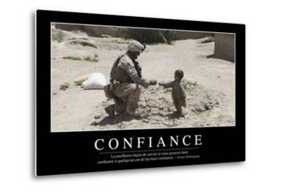 Confiance: Citation Et Affiche D'Inspiration Et Motivation