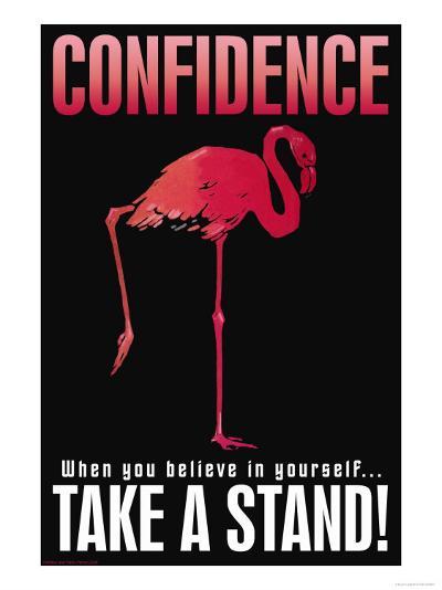 Confidence--Art Print