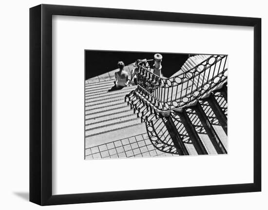 Confidential Stairs-Laura Mexia-Framed Photographic Print