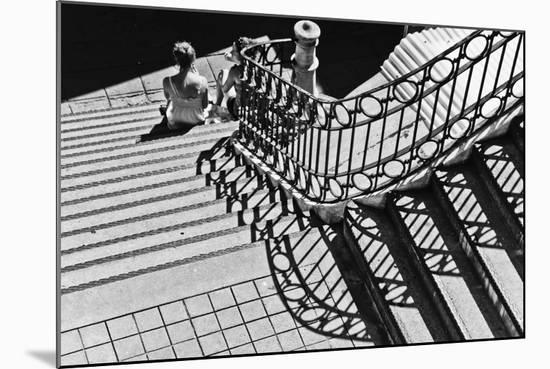 Confidential Stairs-Laura Mexia-Mounted Photographic Print