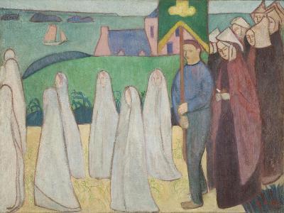 Confirmand's Procession, 1891-Emile Bernard-Giclee Print