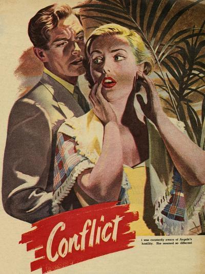 Conflict, Illustration from 'John Bull', 1952--Giclee Print