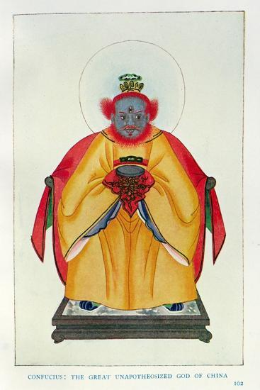 Confucius--Giclee Print