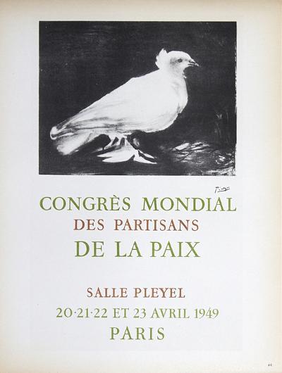 Congres Mondial des Partisans de la Paix-Pablo Picasso-Art Print