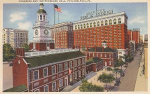 Congress and Independence Hall, Philadelphia, Pennsylvania