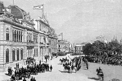 Congress Buildings, Buenos Aires, Argentina, 1895--Giclee Print