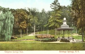 Congress Springs Park, Saratoga Springs, New York