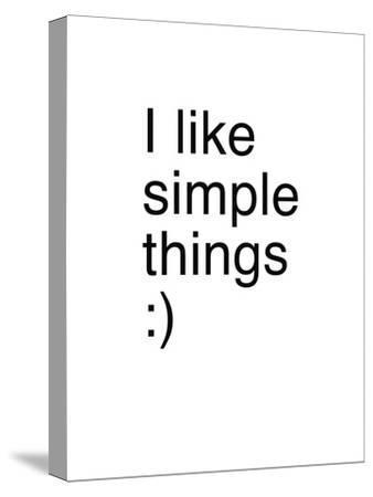 I Like Simple Things
