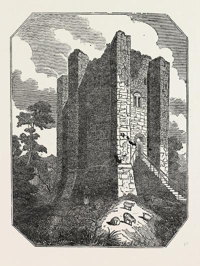 Conisborough Castle, Yorkshire, UK--Giclee Print