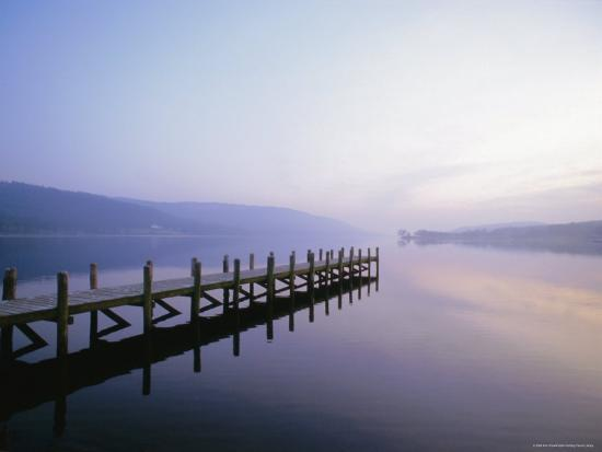 Coniston Water, Lake District National Park, Cumbria, England, UK, Europe-Nick Wood-Photographic Print