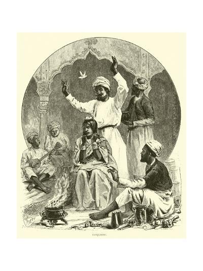 Conjurer--Giclee Print